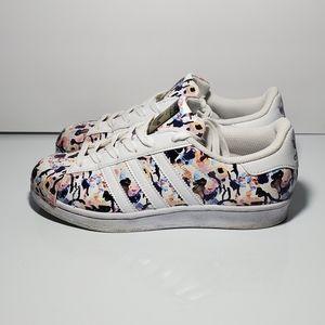Adidas Originals Superstar Shoes Sz 5Y 6.5W BB0351